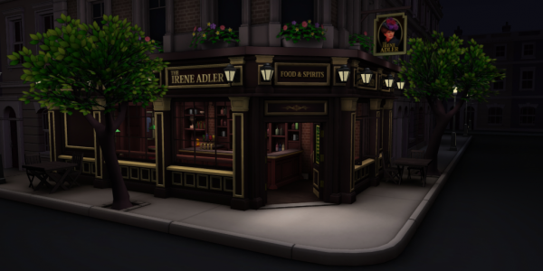 The new Pub level, playable now!
